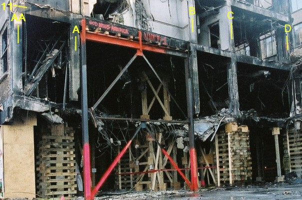 Pentagon 2001 : The damage inside the building :<BR>Bomb or not bomb ?